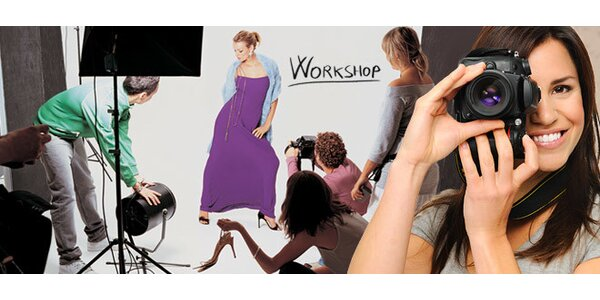 3hodinový fotokurz s profesionálními fotografy