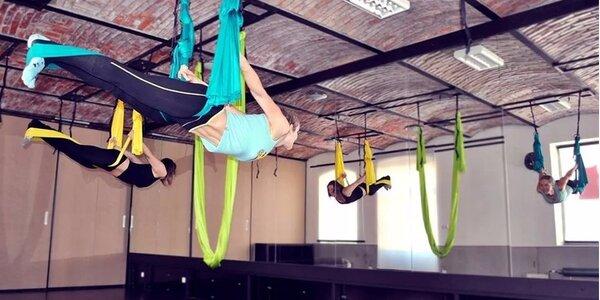 Létací jóga a Pole dance v Airku