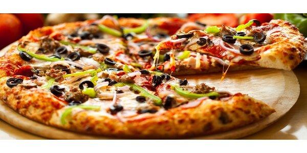 Pizza U Doktora - největší pizza v Brně