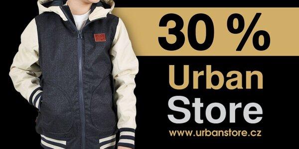 30% sleva na dětské oblečení na UrbanStore.cz