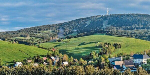 3-8 dní relaxace s polopenzí v Krušných horách