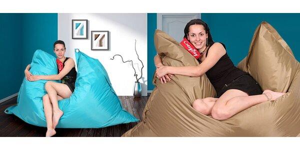 Pohodlné sedací pytle CrazyBag