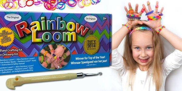 Original Rainbow Loom včetně stavu a 600 gumiček
