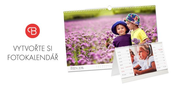 Vytvořte si EXTRA VELKÝ kalendář z vašich fotek