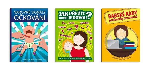 3 bestsellery o zdraví, stravě a očkování od prof. Strunecké