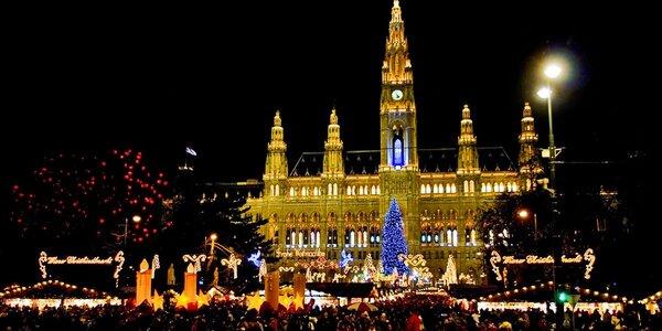 Výlet do kouzelné Vídně včetně vánočních trhů