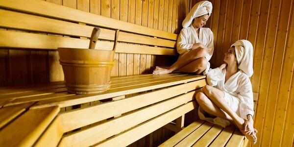 Hřejivá relaxace ve finské sauně