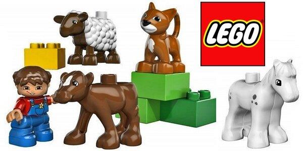Sada Lego Duplo plná farmářských zvířátek