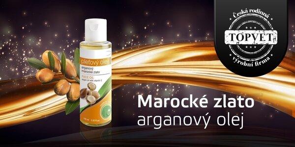 100% arganový olej – marocké zlato