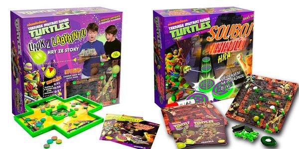2 hry Turtles od Nickelodeon