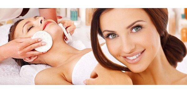 Kosmetické ošetření pleti kosmetikou Janssen