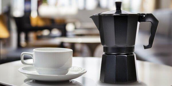 Elegantní italský kávovar na výrobu espressa