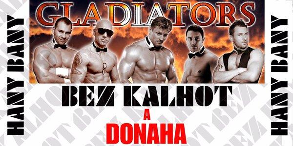BEZ KALHOT A DONAHA - striptýzová show
