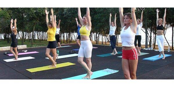 Hubneme do plavek - cvičební víkend pro ženy s možností wellness