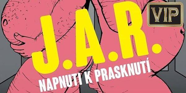 """Vstupenka na koncert """"J.A.R. - Napnuti k prasknutí"""""""