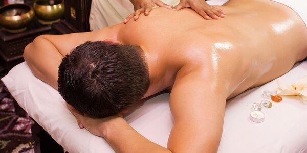 Áyurvédská indická masáž celého těla