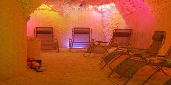 Vstup do solné jeskyně