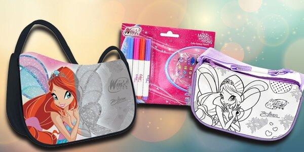 Vybarvovací kabelky pro malé princezny