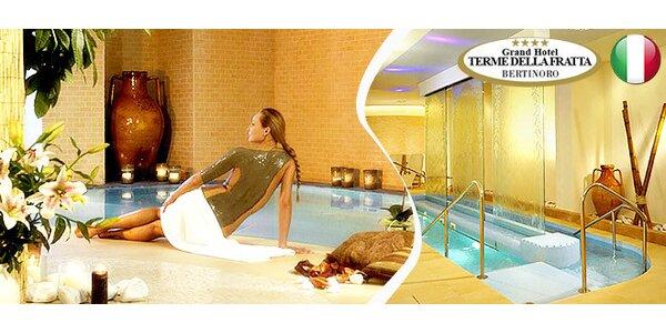6 dní ve 4* termálním hotelu v Itálii pro DVA