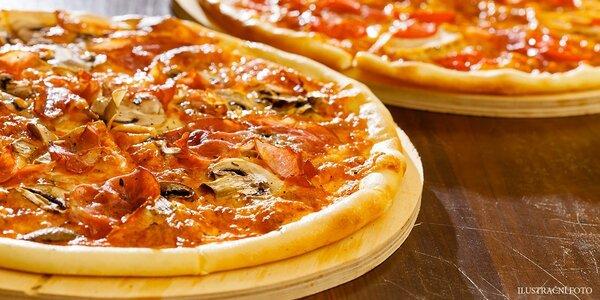 2x pizza dle vlastního výběru