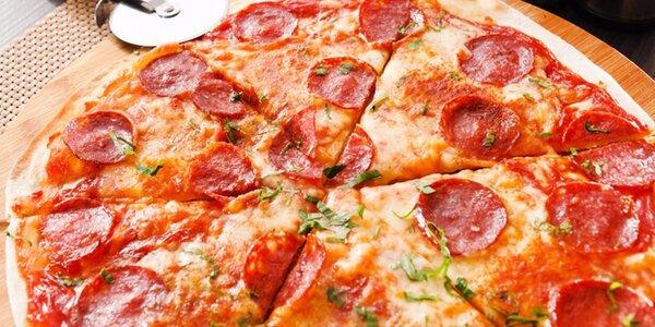 2x křupavá italská pizza 32 cm