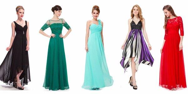 Dárkový poukaz na společenské či svatební šaty