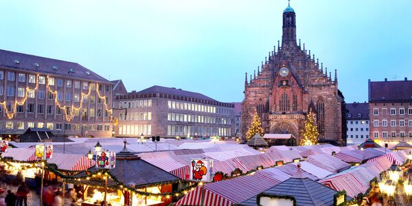 Výlet do Norimberku v době adventu