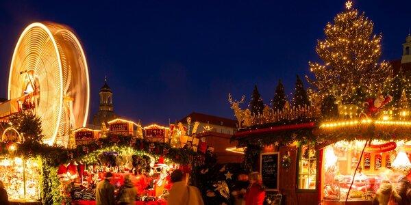 Výlet na adventní trhy do Drážďan