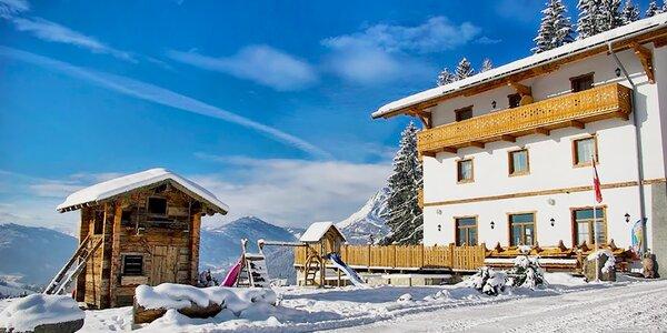 Pohádková zima na horách v Rakousku