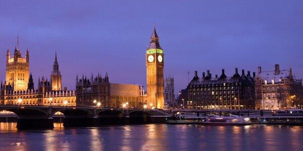 Adventní pohoda i nákupy v Londýně na 4 dny