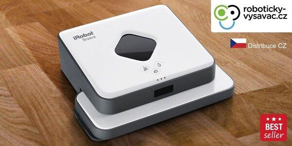Tichý robotický mop iRobot Braava 320