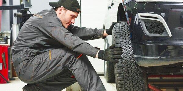 Zajistěte kompletní přezutí pneumatik vašeho vozidla