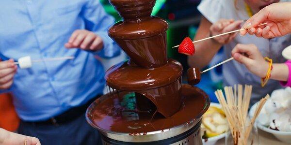 Pronájem čokoládové fontány
