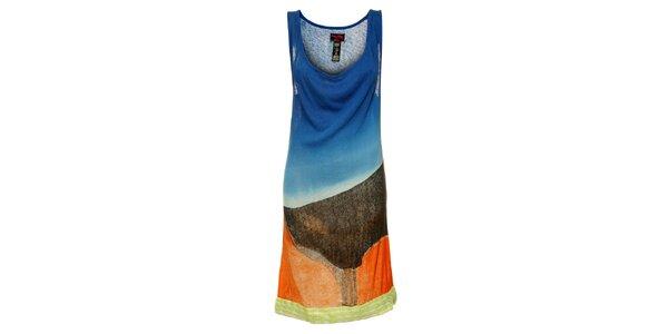Dámské barevné šaty Custo Barcelona