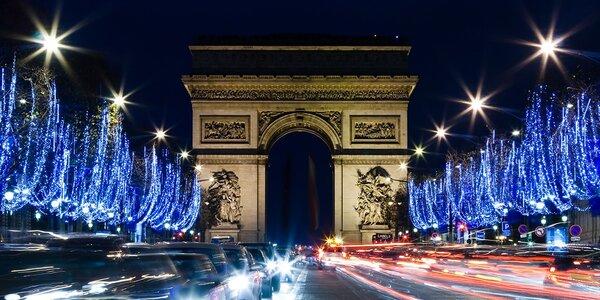 Adventní Paříž s ubytováním