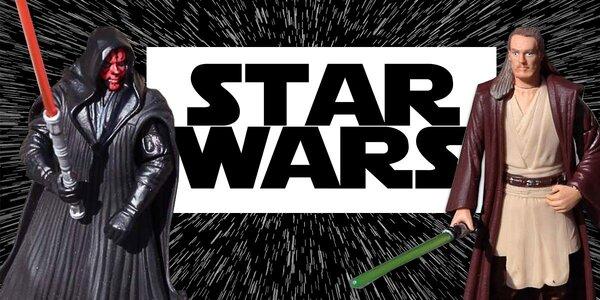 Detailně zpracované figurky ze Star Wars