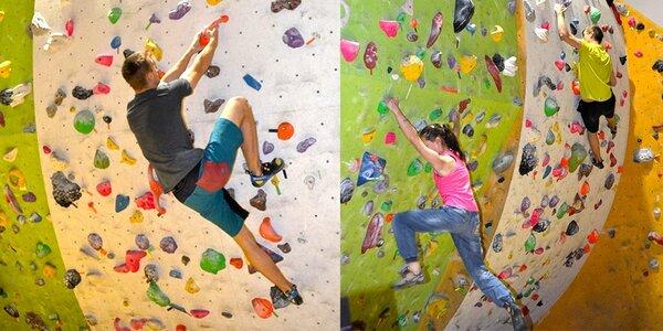 Dva vstupy na boulder se zapůjčením vybavení