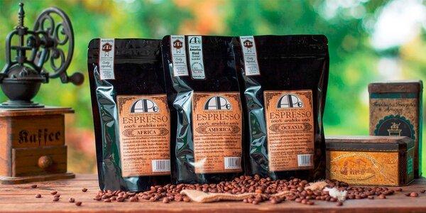3 výtečné směsi na espresso ze 100% arabik