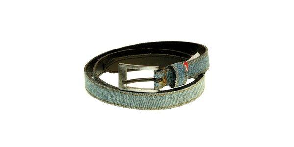 Dámský světle modrý denimový pásek Levi´s