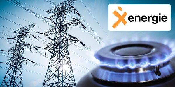 Sleva na elektřinu a plyn od X Energie