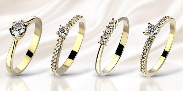 Překrásné zásnubní prsteny s diamanty