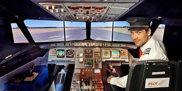 Parádní zážitek na leteckém simulátoru