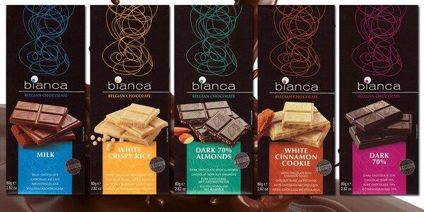 Úžasné balíčky s pravou belgickou čokoládou