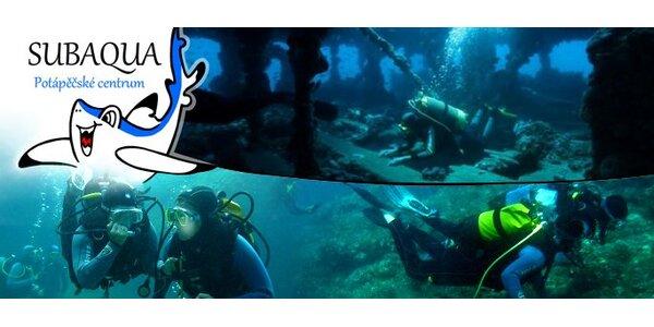 449 Kč za potápěčský ponor s instruktorem v bazénu nebo v moři v Chorvatsku