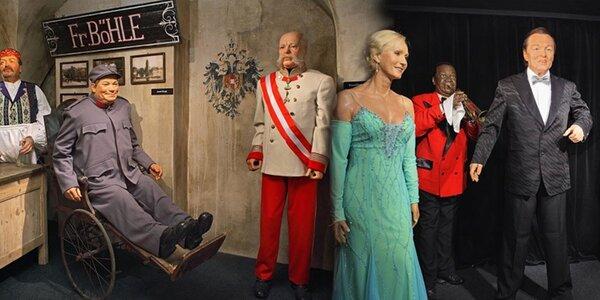 Vstupné do úžasného Muzea voskových figurín