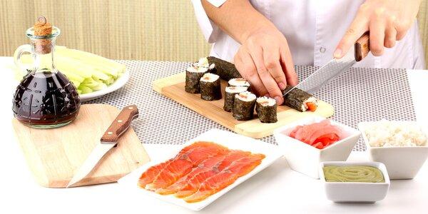 Kurz sushi – co si připravíte, si i sníte