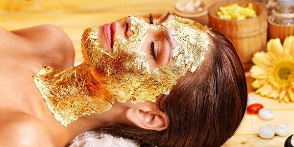 Omlazující ošetření s použitím zlata