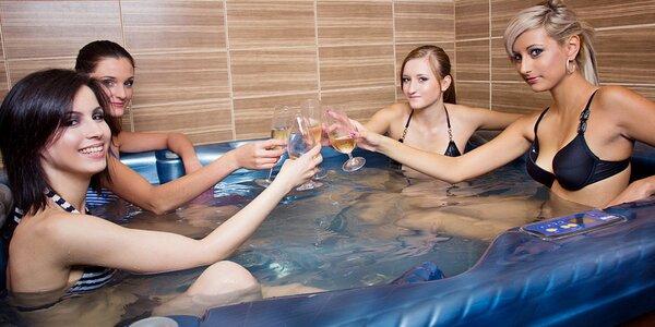 90 minut privátní sauny a vířivky pro 2-4 osoby