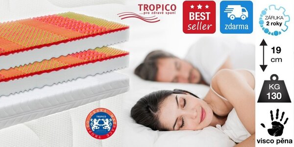 Matrace Tropico Visco Baron - bestseller!