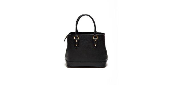 Dámská černá minimalistická kabelka Renata Corsi